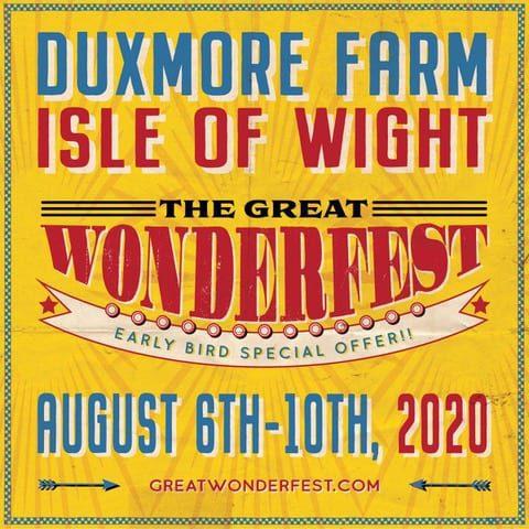 Photograph of Wonderfest Isle of Wight Poster